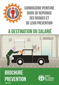 brochure risques professionnels carrosserie peinture pour les salarés